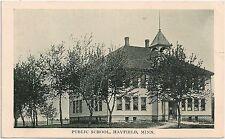 Public School in Hayfield MN Postcard 1911