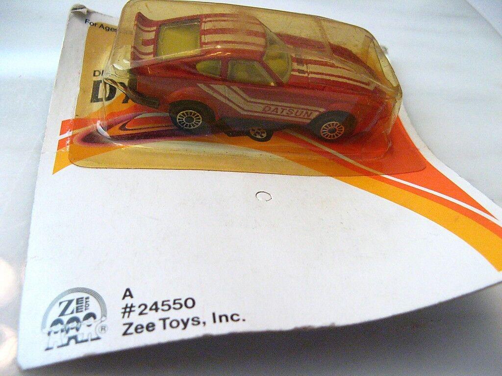 RARE ERROR CARD Vintage ZEE D75 Datsun Fairlady Die Cast Car Z 240 280 ZX