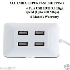 4 Port USB HUB 3.0 High speed (Upto 480 Mbps)  FOR DESKTO, LAPTOP