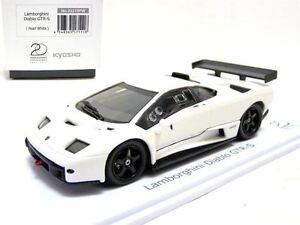 Kyosho 03215pw 1 43 Lamborghini Diablo Gtr S Diecast Model Car 20th