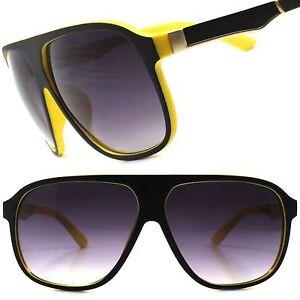 dfeb5e64ba Black Yellow Large Oversized Vintage Retro Style Mens Womens Square ...