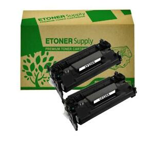 2-Black-CF226X-26X-High-Yield-Toner-Cartridge-fit-HP-LaserJet-Pro-M402-MFP-M426