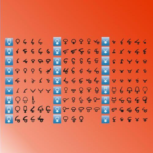 5m Fenêtre Joint de rechange pour plus de 100 profils par défaut imbattable!