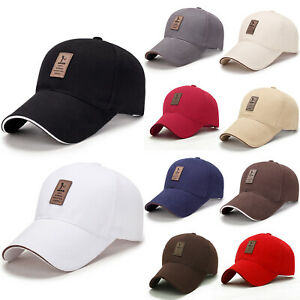 Baseball-Kappe-Cap-Herren-Damen-Basecap-Sport-Snackback-Hut-Sommer-Trucker-Muetze