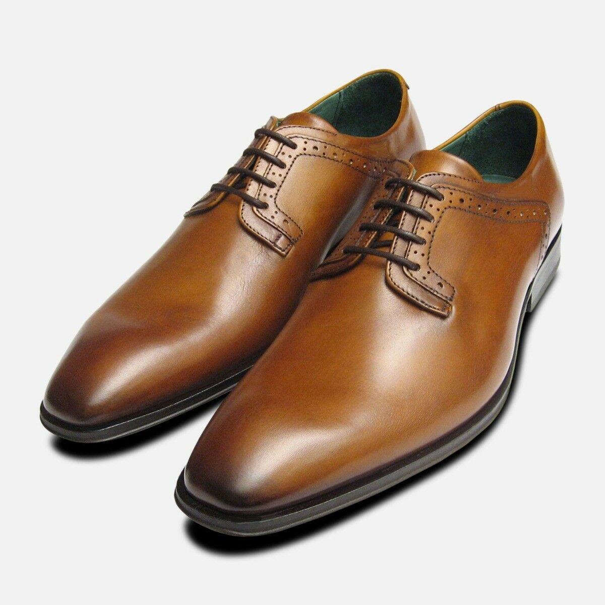 Plain Toe Lace Up Designer shoes by Exceed Footwear