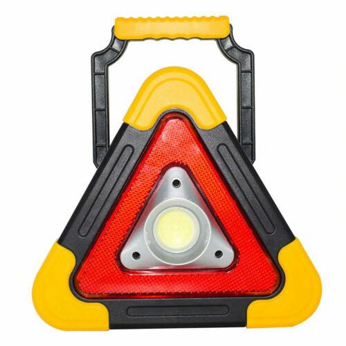 Triangolo Auto Segnale di Avvertimento LUCE Emergenza Proiettore Riflettore LED
