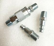 Quick Change Coupler Male 2 Male For 14npt Air Hose Tools Diy Shop Or Garage