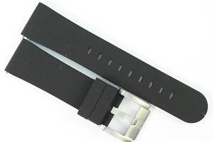 TW-Steel-Marc-Coblen-Edition-Uhrenarmband-22mm-Silikon-Schwarz