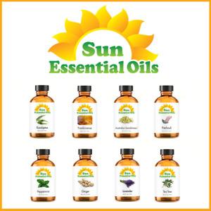 Best Sun Essential Oils - (Large 4oz) - 100% Natural - Amber Bottle
