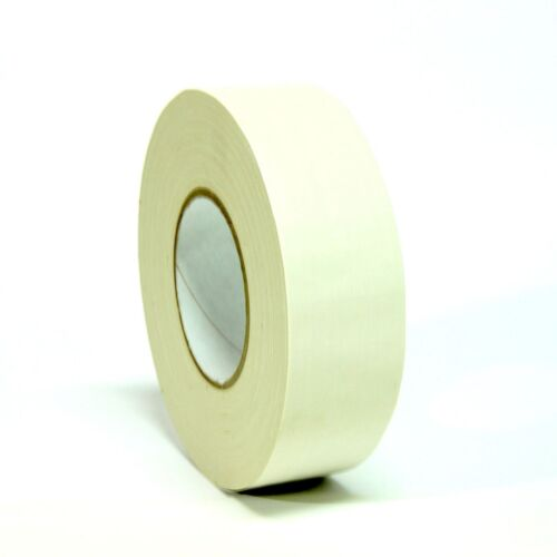 6 ROLLS - GAFFERS STAGE TAPE - NO RESIDUE - WHITE - 2 (48mm) X 60 YARD