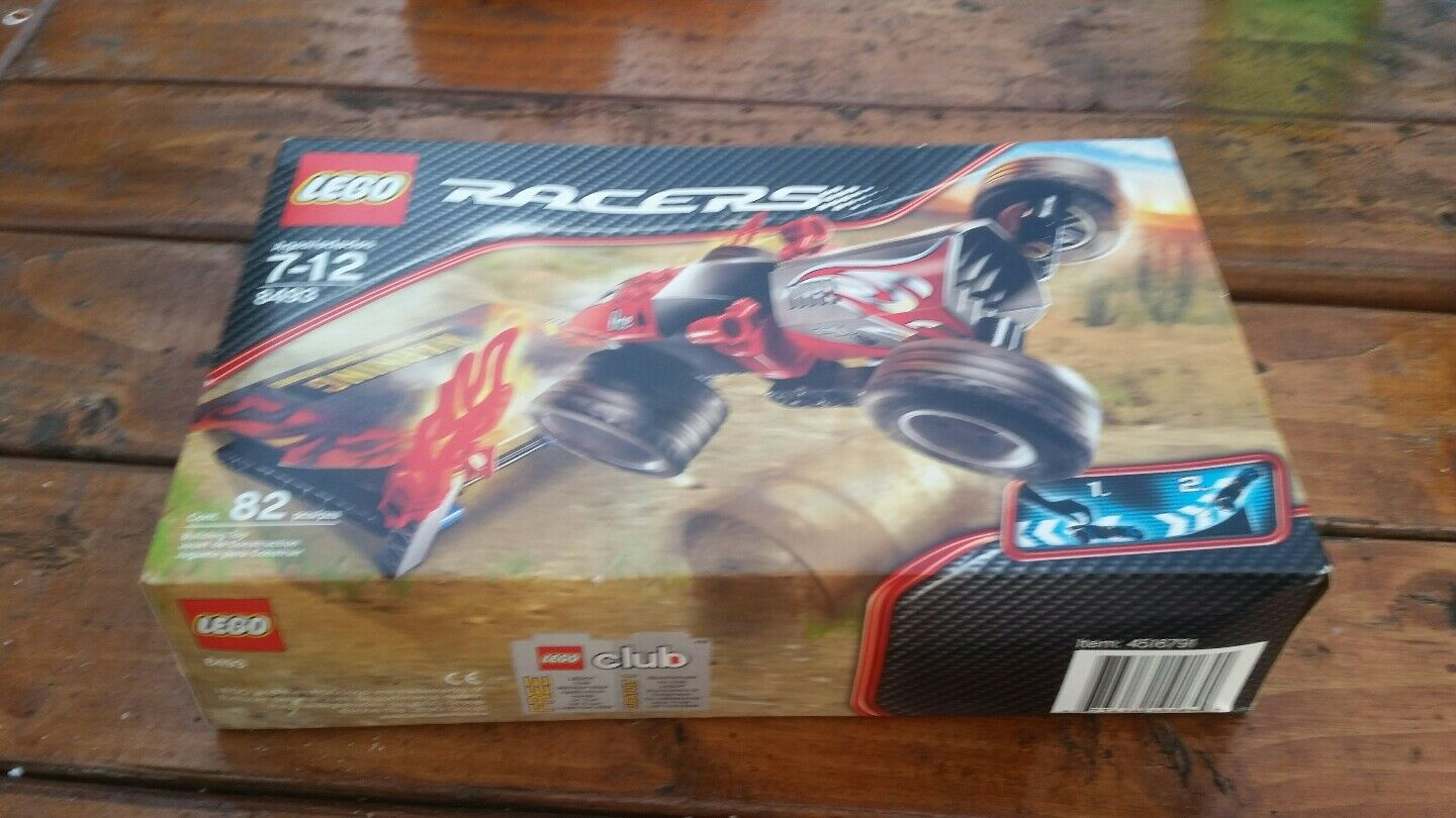 LEGO Racers ROT Ace ( 8493) Brand New Sealed.