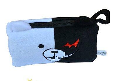 Dangan Ronpa Junko Enoshima Bear Cosplay Pencil Case Pen Bag Cosmetic