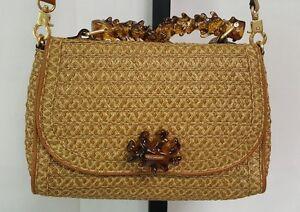 Image Is Loading Eric Javits Resin Top Handle Ariel Satchel Handbag