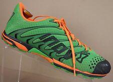 Inov8 F-Lite 195 Green Orange Mesh Athletic Running Sneakers Shoes Mens 12.5