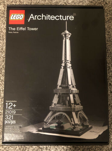 Lego Architecture The Eiffel Tower Paris France 21019 Landmark Series New 2014