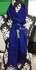 Mossimo Supply Co Scarf with skull accent Purple One Size 74x 26 inches
