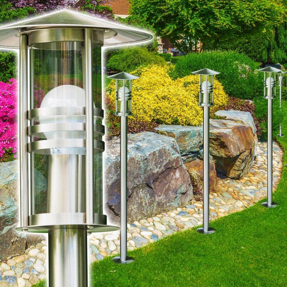 Außenstehleuchte Edelstahl Garten Stehlampe Wege Lampen Aussen Steh Leuchte IP44   | Sorgfältig ausgewählte Materialien  | Verbraucher zuerst  | Neuer Eintrag