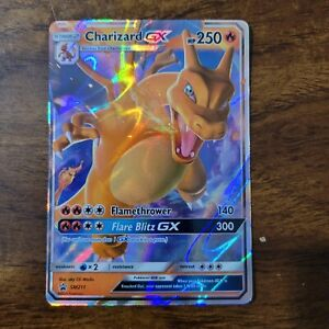 Pokémon- Charizard GX Hidden Fates Promo SM211