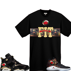 ff042263ae69 WeWillFit shirt to match Air Jordan 6 Retro VI CNY Chinese New Year ...