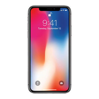 Apple iPhone X 256GB Factory Unlocked 4G LTE iOS WiFi 12MP Camera Smartphone