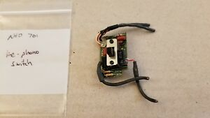 NAD 701 receiver line - phono switch N52003021-0-01