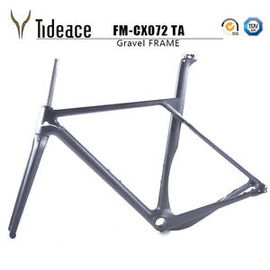 cyclocross rahmen road racing gravel bike fahrradrahmen. Black Bedroom Furniture Sets. Home Design Ideas