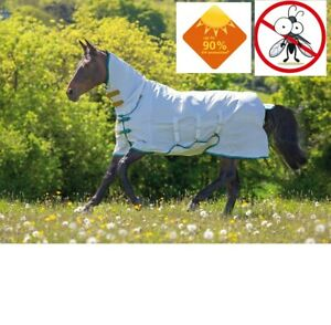 Shires Tempest Plus Sweet Itch Combo Fly Bug Midge Horse