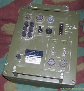 APT Alarm and Terminal Panel  MARCONI UDZR 10510/S