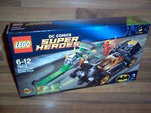 Lego Set 76012 - Super Heroes Batman Le Riddler Chase / Dc Comics 2014 Neuf
