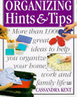 Ultimate Book of Organising Hints and Tips by Cassandra Kent (Paperback, 1997)