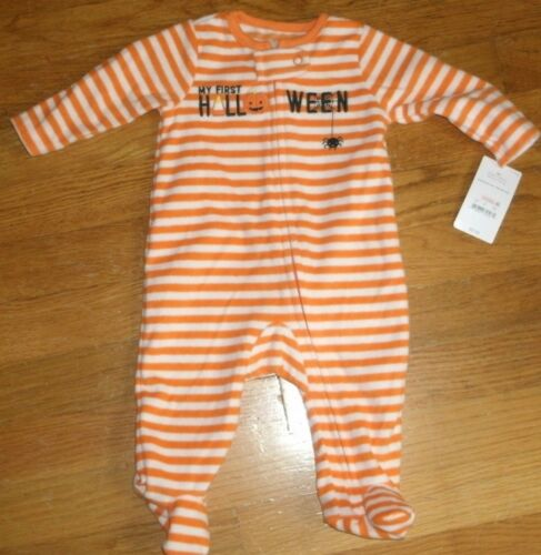 Carter/'s just one you Halloween Coverall Costume Baby First 1st Sz 3 Months New