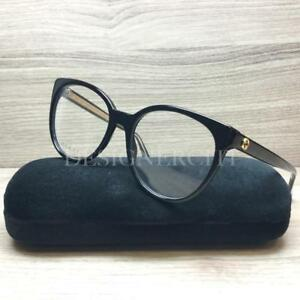 f2192500975 Image is loading Gucci-GG-3823-GG3823-Eyeglasses-Black-Gold-Y6C-