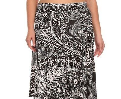 Women/'s Plus Size Long Maxi Skirt 1x 2x 3x