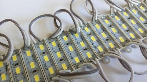 3 SMD5730 LED MODULE STRIP BAND LAMP BACKLIGHT DC 12V WATERPROOF IP65 SET OF 20