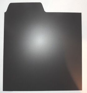 10-x-Vinyl-LP-12-034-Record-Dividers-Black-Premium-Index-Tabs-by-Filotrax