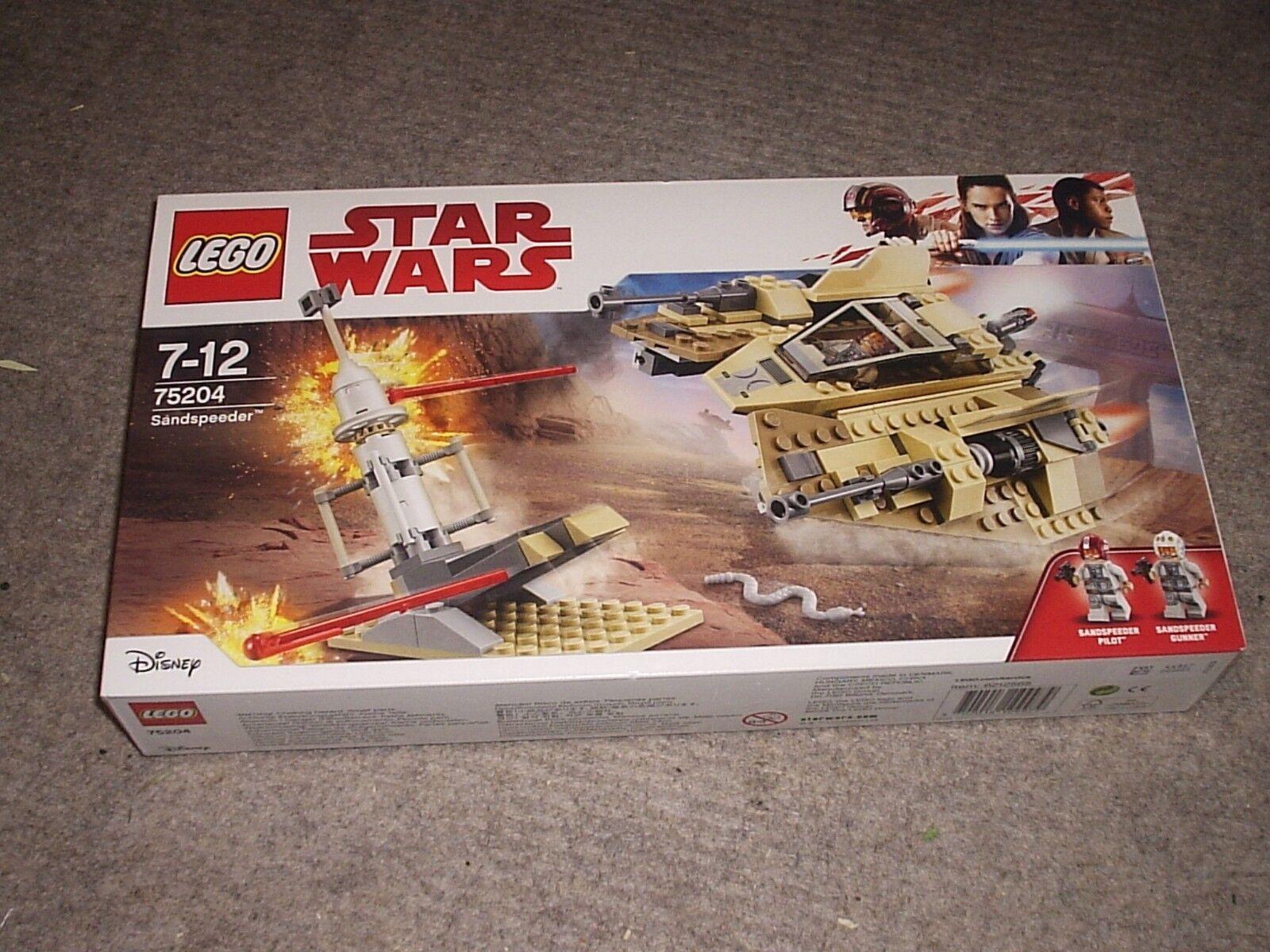 Lego Star Wars Sandspeeder 75204 (new sealed box set)