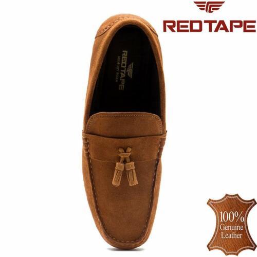 Homme Red Tape Cuir à Enfiler Décontracté Mocassin Homme Mocassin Conduite Taille de chaussure