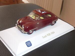 BordeauxAtlas collectionvoiture miniature voiture oldtimer 1954 1:43 SAAB 92b