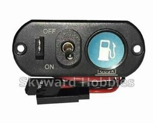 HEAVY DUTY SINGLE POWER SWITCH WITH FUEL DOT for RC vehicles