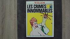 BD Les crimes innommables - Willem - L'echo des savanes - 04/1983 EO