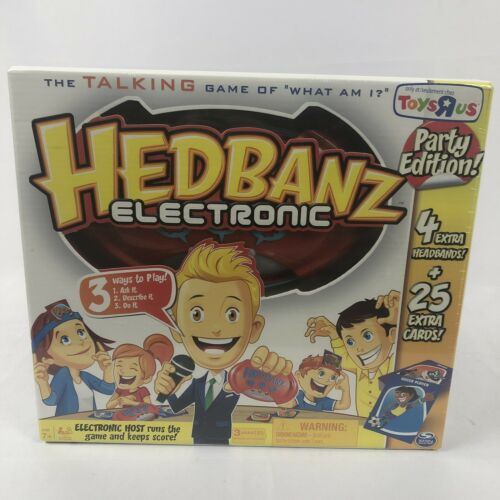 Hedbanz Electronic Party Edition Talking Game NEW