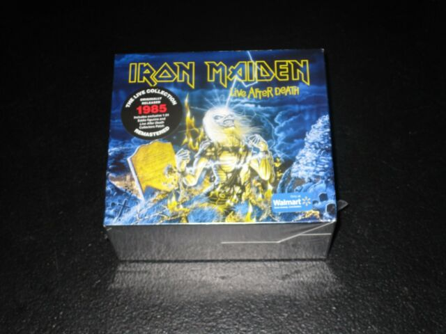 Iron Maiden Live After Death Remastered Limited Edition Sealed