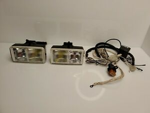 Rare-PIAA-PF613-PF614-Fog-Driving-Lights-Set-Twin-Bulb-Yellow-Clear-Japan