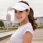Adult Sport Adjustable Sun Visor Hat Outdoor Golf Tennis Baseball Caps
