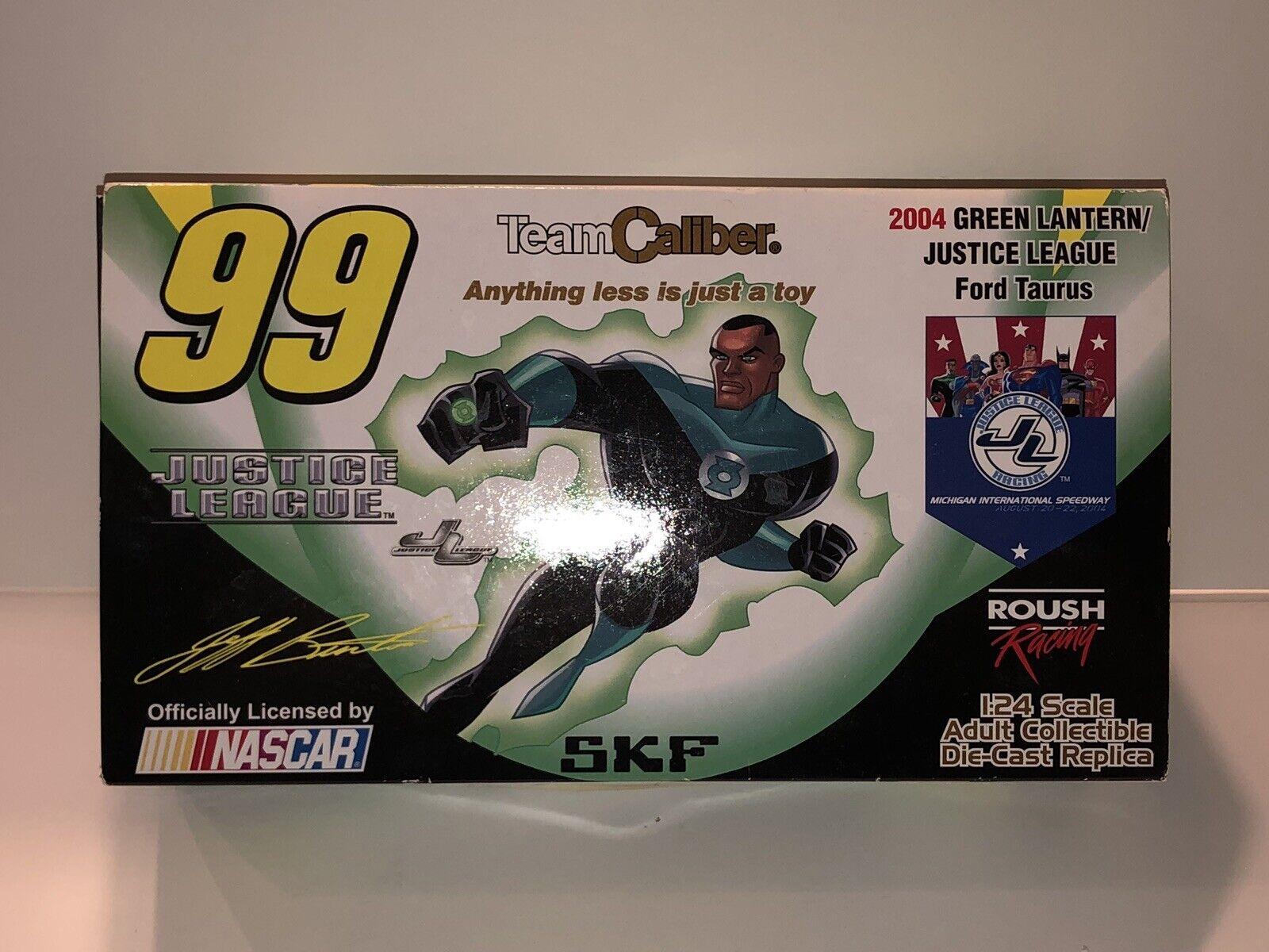 Jeff Burton 99 SKF Liga De La Justicia Linterna verde 2004 Ford Taurus NasCoche Ltd Ed