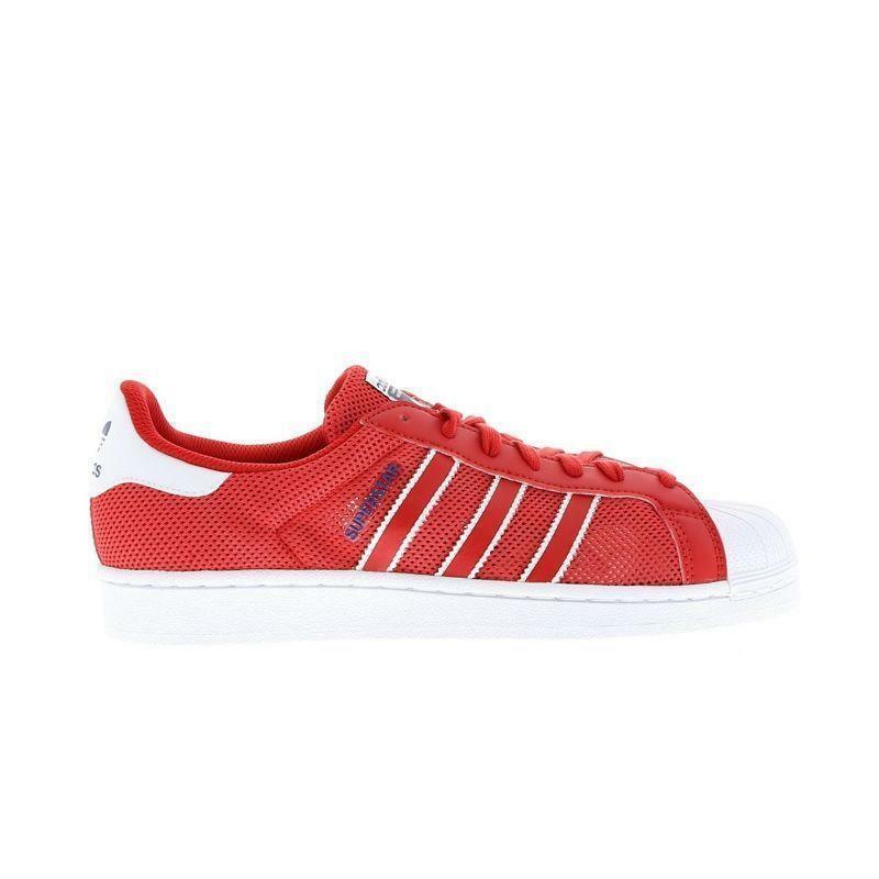 Zapatillas para hombre Adidas Superstar Rojo BB5394
