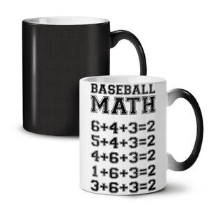 Baseball Math NEW Colour Changing Tea Coffee Mug 11 oz | Wellcoda