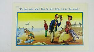 1950s-Risque-Comic-Postcard-Crab-Nylons-Black-Stockings-Suspenders-Garter-Belt