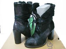 Ugg Collection Piera Black Women Boots US7/UK5.5/EU38/JP24