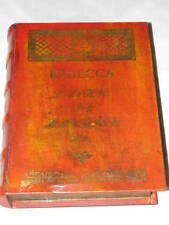 Rebecca Dame Daphne Du Maurier Wooden Box Library Store Hitchcock Vhs Dvd WOOD